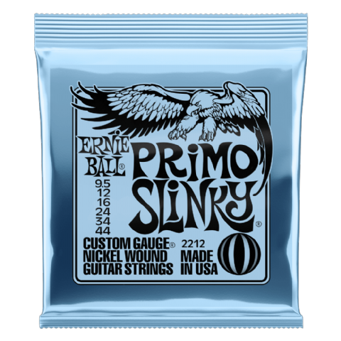 Ernie Ball Primo Slinky 9.5-44 Electric Guitar Strings